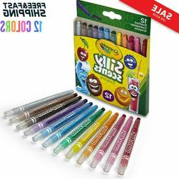 Crayons Sweet Markers Scented Crayola Silly Scents Twistable