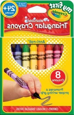 CYO811308 - Crayola My First Triangular Crayons - 8 ct.