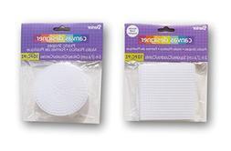 Darice Plastic Canvas Circle and Square Set - 3 Inch - 20pc