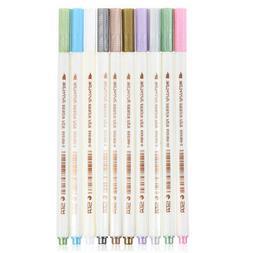 Dauber Metallic Color Highlighting DIY Brush Paint Marker Al