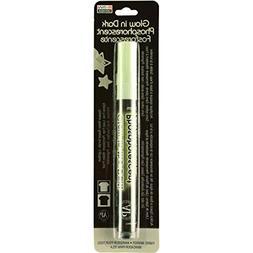 DecoFabric Glow In The Dark Fabric Marker-Green