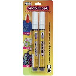 UCHIDA DecoFabric Markers 2/Pkg-Black