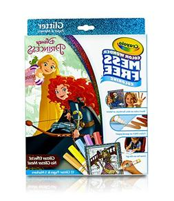 Disney Princess Mess Free Color Wonder Glitter Paper and Mar