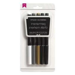 Diy Shop Chalk Permanent Markers 5/Pkg-