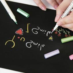 DIY Soft Brush Pen Metallic Marker Arts Scrapbooking Crafts