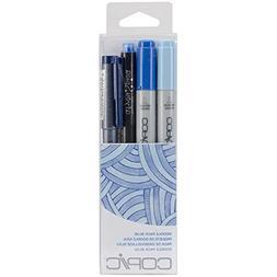 Copic Marker DPBLU Doodle Pack, Blue