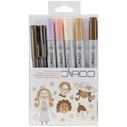 Copic Marker DKPEOP Doodle Kit, People