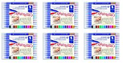 STAEDTLER double ended calligraphy markers, calligraph duo,