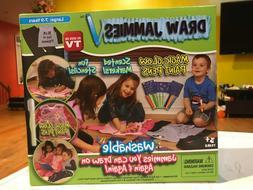Draw Jammies Pajamas Washable Markers Stencils Magic Glow Pa