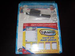 Rose Art Dry Erase Activity Book