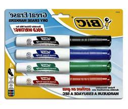 BICGDEMP41ASST - BIC Great Erase Grip Dry Erase Markers