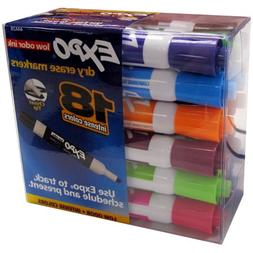 Expo Dry Erase Markers - 18 Pack
