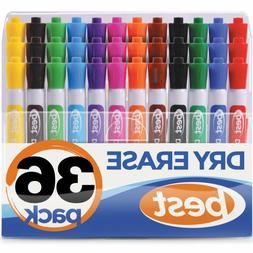 Best Dry Erase Markers  In Assorted Colors - Usable On Any -