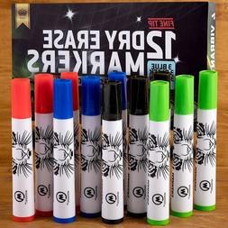 Dry Erase Markers, Whiteboard Marker Pens, Fine Point - for