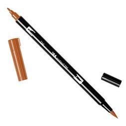 Dual Brush Pen Open Stock-947 Burnt Sienna