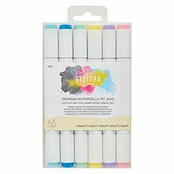 Docrafts Dual Tip Illustration Markers - Chisel/brush  - Pas