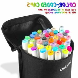 Fabric Markers Ohuhu 40 Permanent Color Fabric Paint Pens Wi