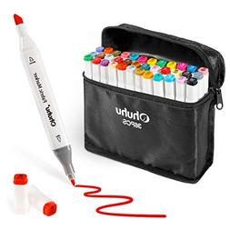 Fabric Markers Permanent 36 Colors of Ohuhu Dual Tip Fabric