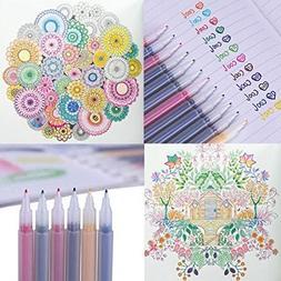 Felt Tip Pens- Ucolor Mate Medium Point, Assorted Colors, 12