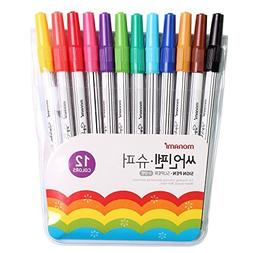 Monami Felt Tip Sign Pen Super Marker for Art Drawing Colori