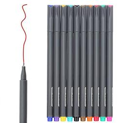 Fineliner Color Pen Set Fine Line Drawing Fine Point Markers