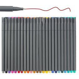 Fineliner Color Pen Set, Fine Line Point Drawing Marker Pens