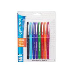 Paper Mate Flair Porous-Point Felt Tip Pen, Medium Tip, 8-Pa