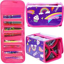 GirlZone : Fruit Scented Stationery Set, Fun Pencil Case Inc