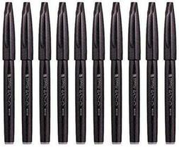 Pentel Fude Touch Brush Sign Pen ,Black Ink, Felt Pen Like B