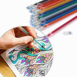 Gel Pen Ink Refills 0.5mm Tips Glitter Pastel Neon Metallic