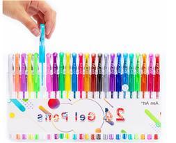 Gel Pens Set Colored Gel Art Markers Fine Point Pen with 40%