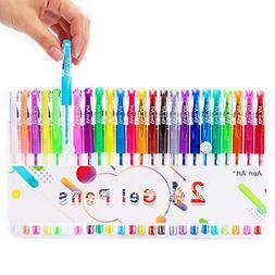 Gel Pens Set Colored Gel Art Markers Fine Point Pen for Adul