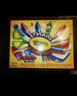Crayola Giant Art Box 177pc Crayons Markers Colored Pencils