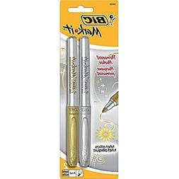 BICGMPMP21AST - BIC Mark-it Fine Point Permanent Metallic Ma