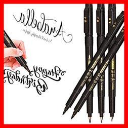 Hand Lettering Pens Calligraphy Pen Brush Markers Set Refill