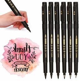 Hand Lettering Pens, Refillable Calligraphy Pen Brush Marker