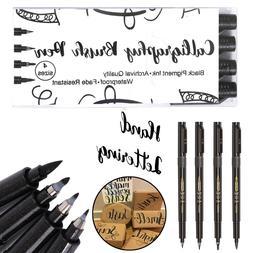 Hand Lettering Pens, Calligraphy Pen Brush Markers Set, Refi