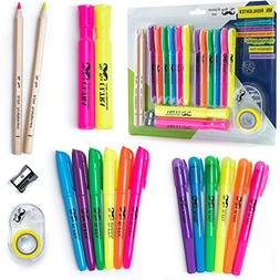 Mr. Pen- 18 Pc Highlighter Set, 6 Gel Bible Highlighter Non