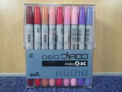 Copic I36B Ciao Markers Set B 36-Piece