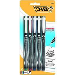 Bic Intensity Marker Pen Assorted 5 Colors