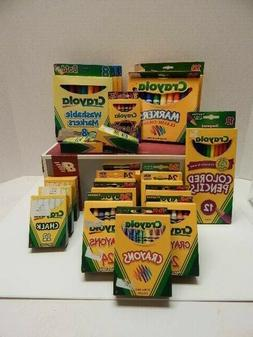 Kids Bulk discount Crayola products, markers crayons color p