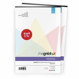 "KINGART™ Manga-Marker Paper Pad Value - 2 Pack - 9"" X 12"","