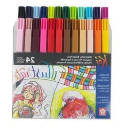 Sakura Koi Coloring Brush 24-Pc Set - 24 Colors