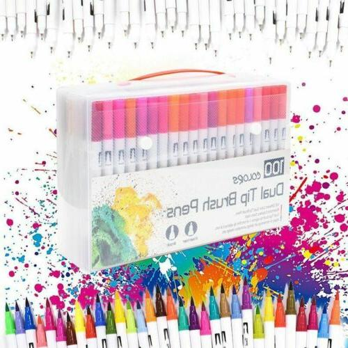 120 Color Drawing Pens