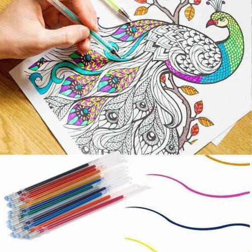 12/24/36 Pcs Colorful Pen Set for Pen Mark