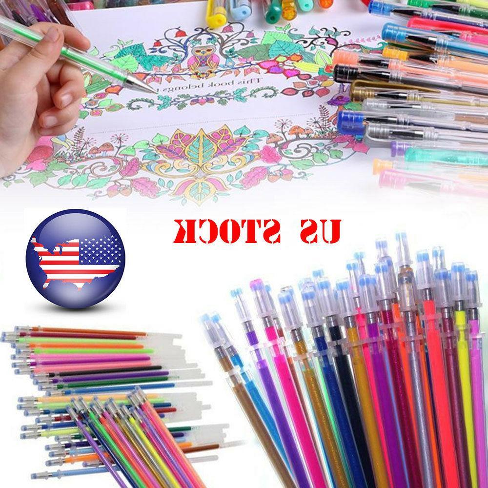 12 36 48 gel pens glitter multifunction
