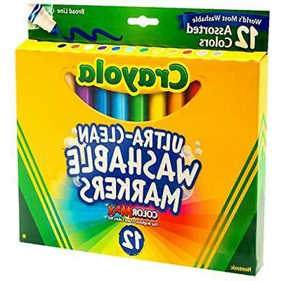 Crayola Washable Colors, Non-toxic