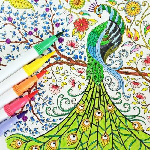120 Pen Markers Tips Paint Art