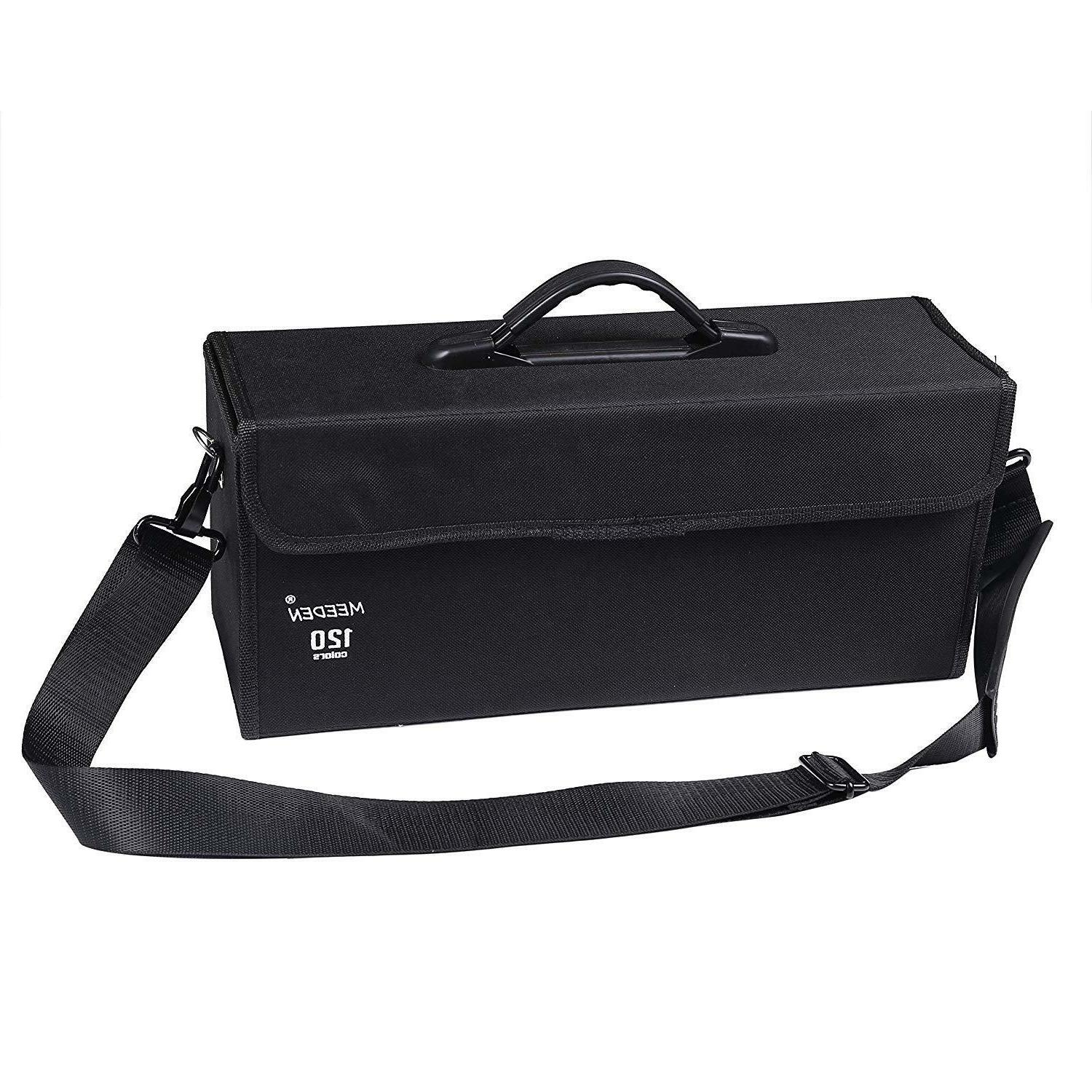 120 Colors Carrying Case Holder for Copic Prismacolor Touch
