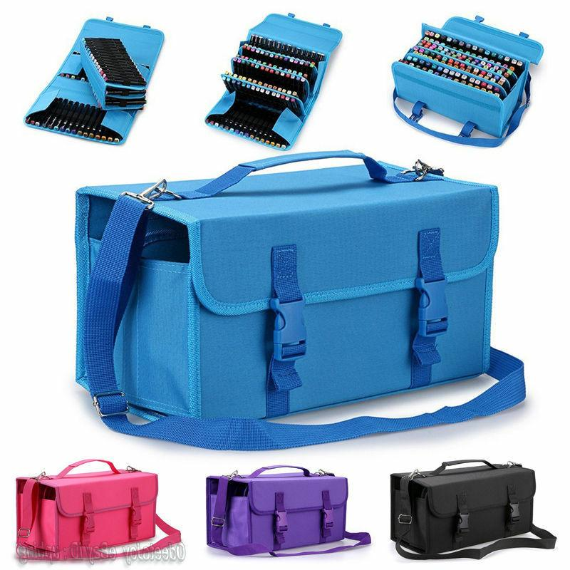 120 slots marker pen storage case carrying